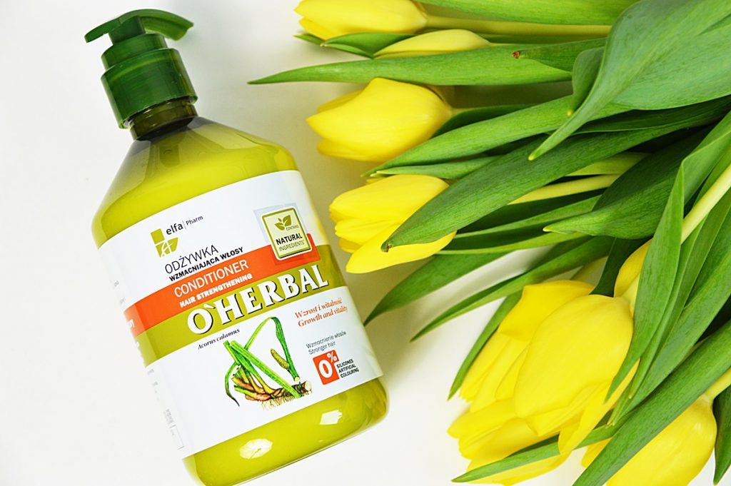 O'Herbal odżywka wzmacniająca włosy z ekstraktem z korzenia tataraku