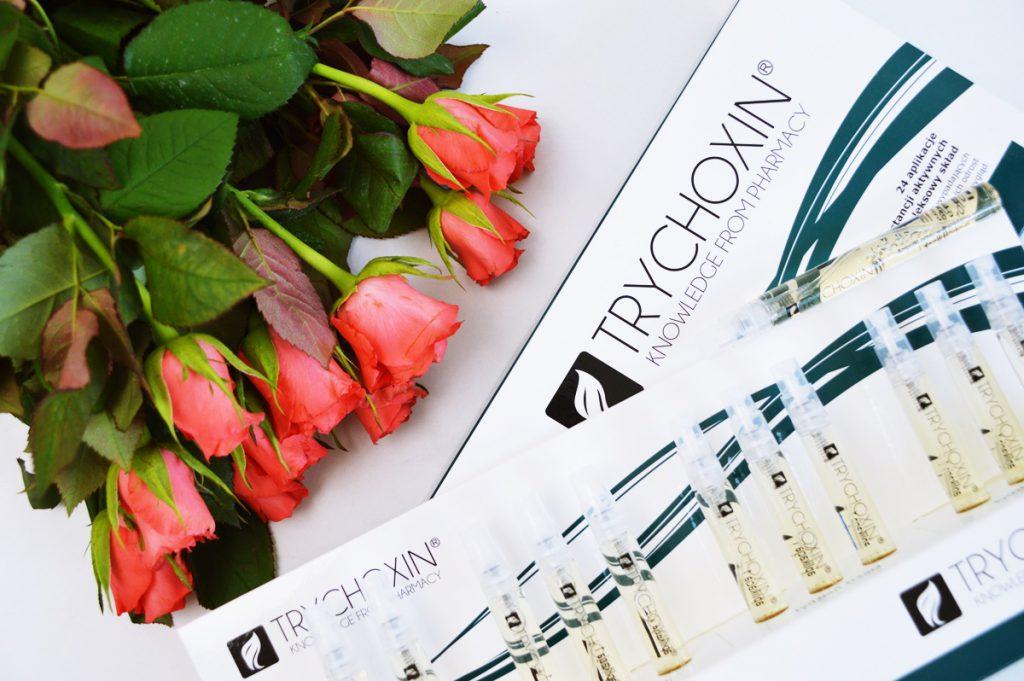 Miesięczny program aplikacyjny przeciw wypadaniu włosów TRYCHOXIN