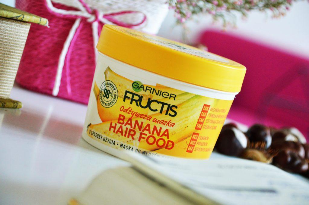 Garnier Fructis Banana Hair Food – recenzja maski do włosów