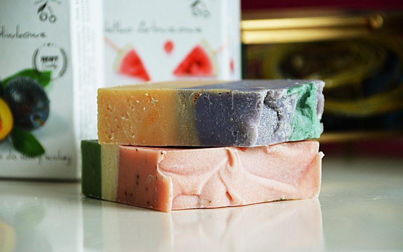 ręcznie wyrabiane mydła cherry soap